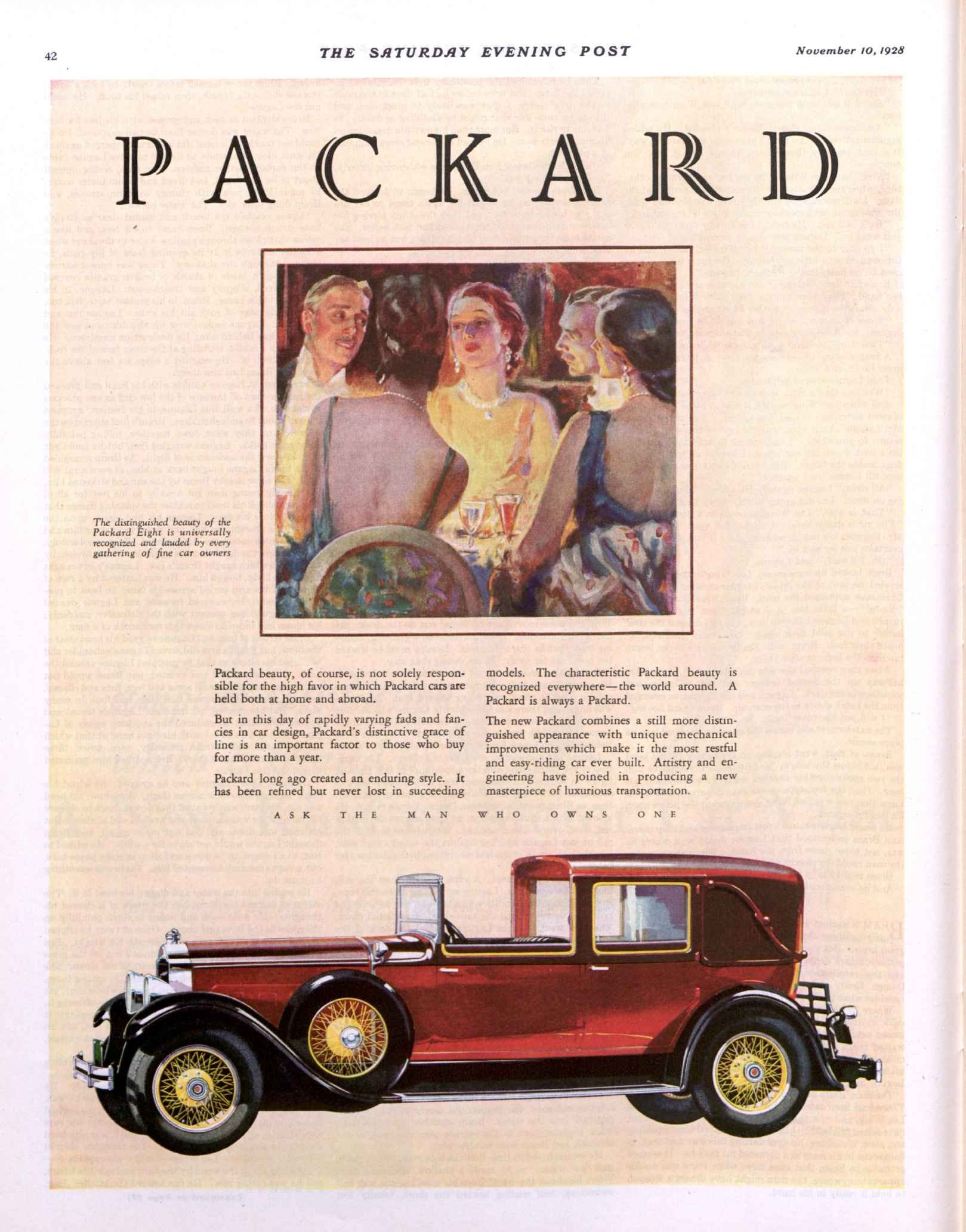 28.11 packard red limo.