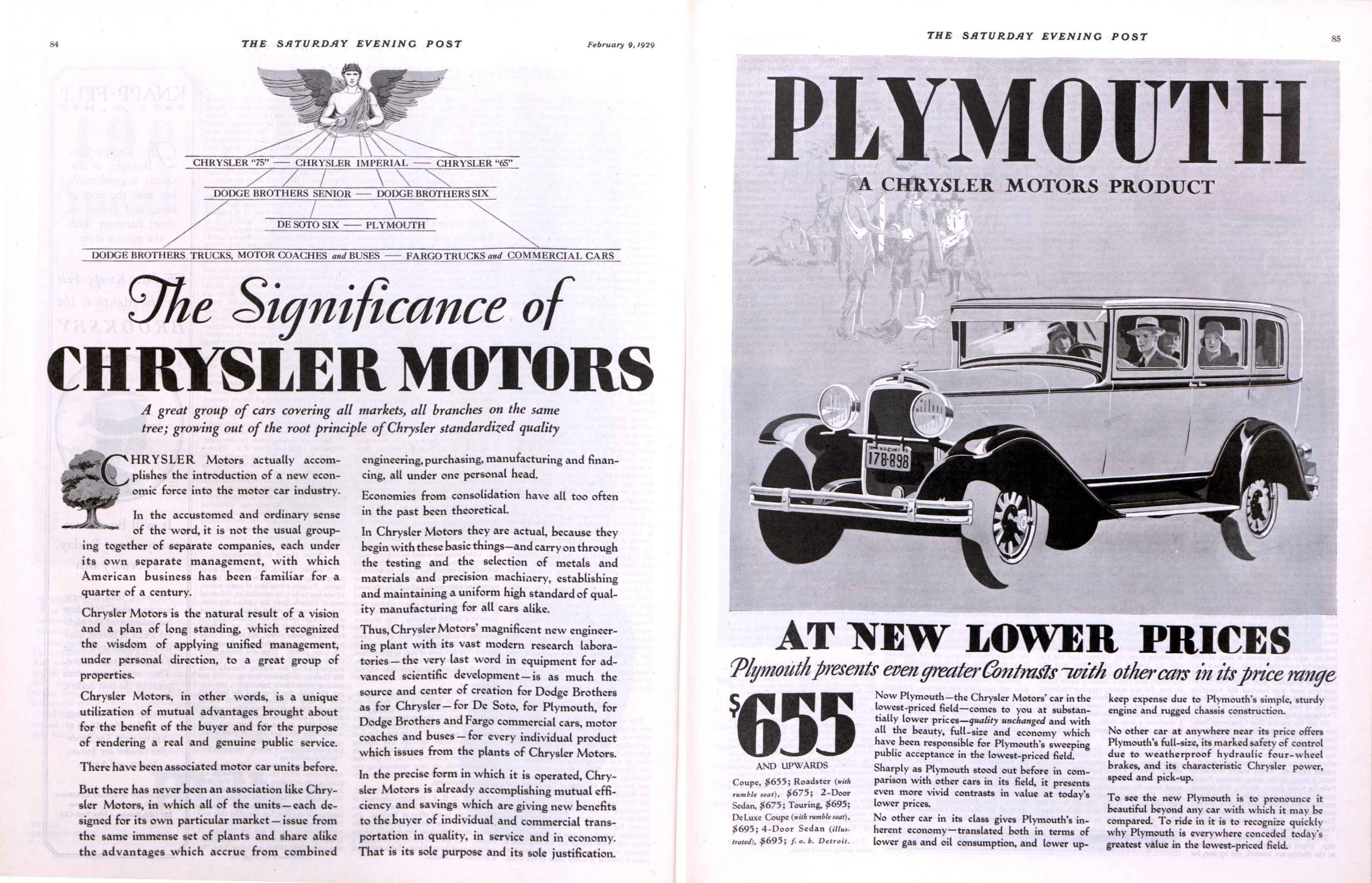 29.2 Chrysler Plymouth.