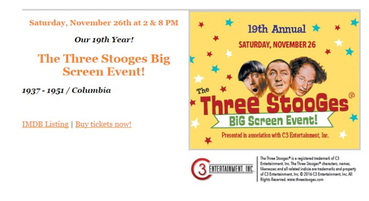 3d Will The 3 Stooges Shorts Pardon My Backfire And Spooks