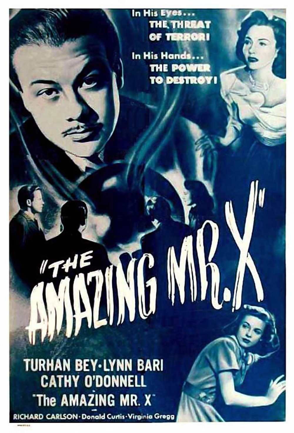 7a  Amazing Mr X 02 Poster.