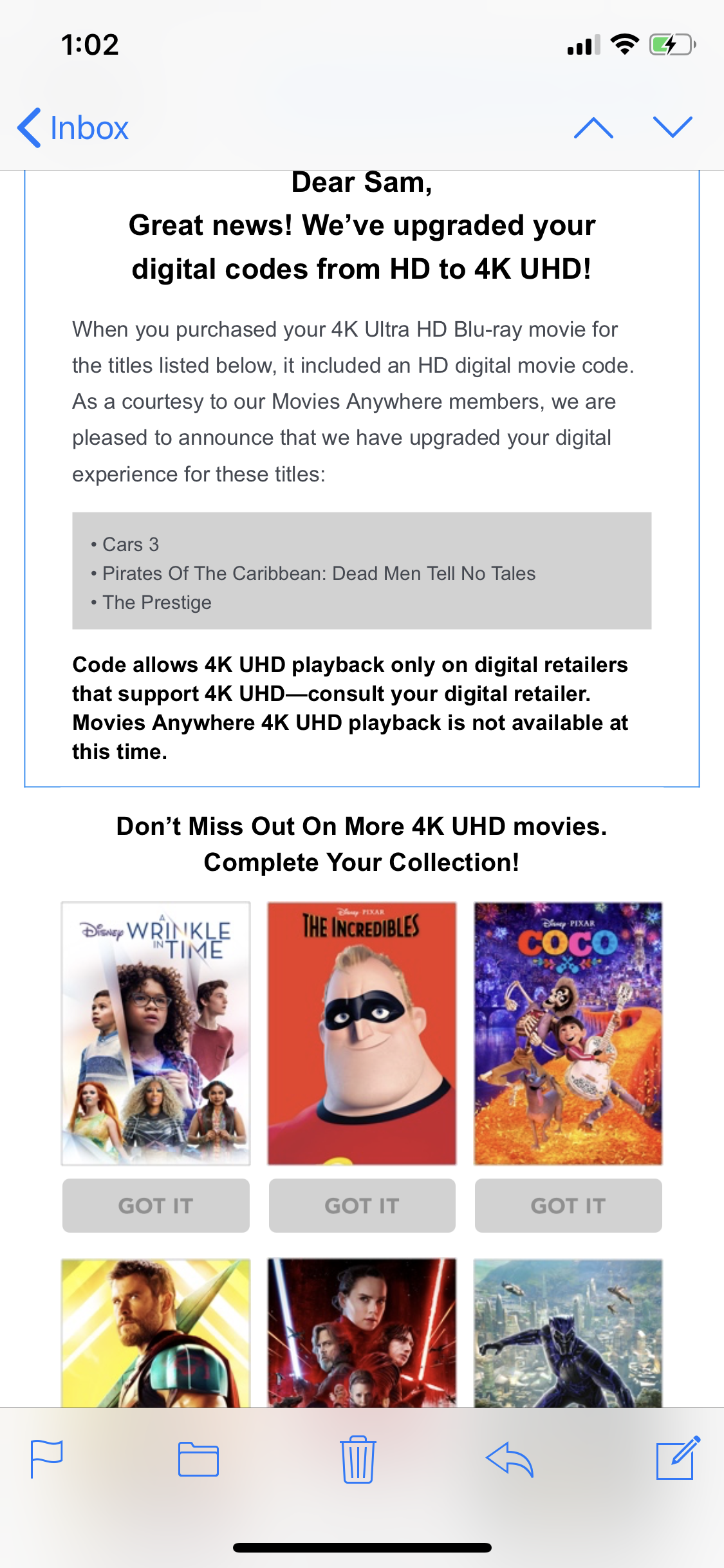 Press Release - Announcing the launch of MOVIES ANYWHERE