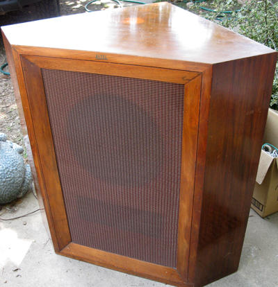 Setting up a vintage 1960's stereo set-up input