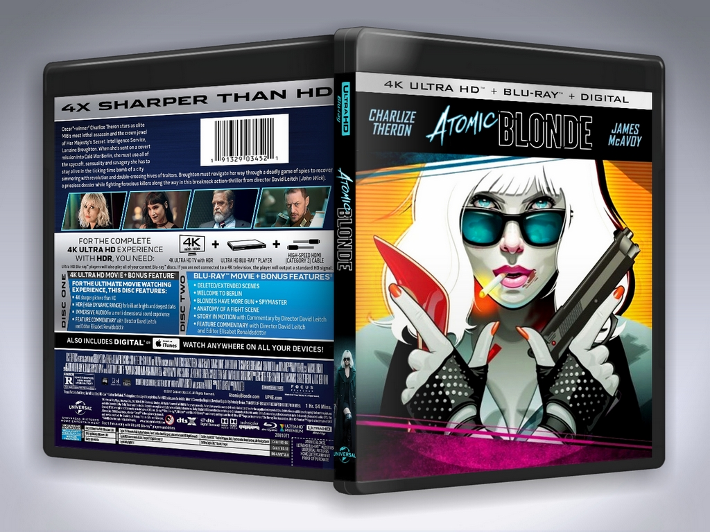Atomic Steelbook Preview.