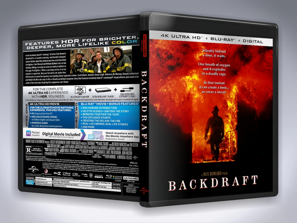 Backdraft UHD Preview.