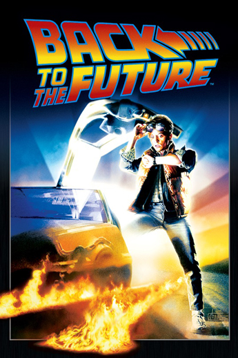Back to the Future (1985) iTunes Cover