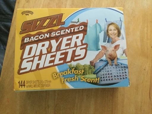 bacon sheets.