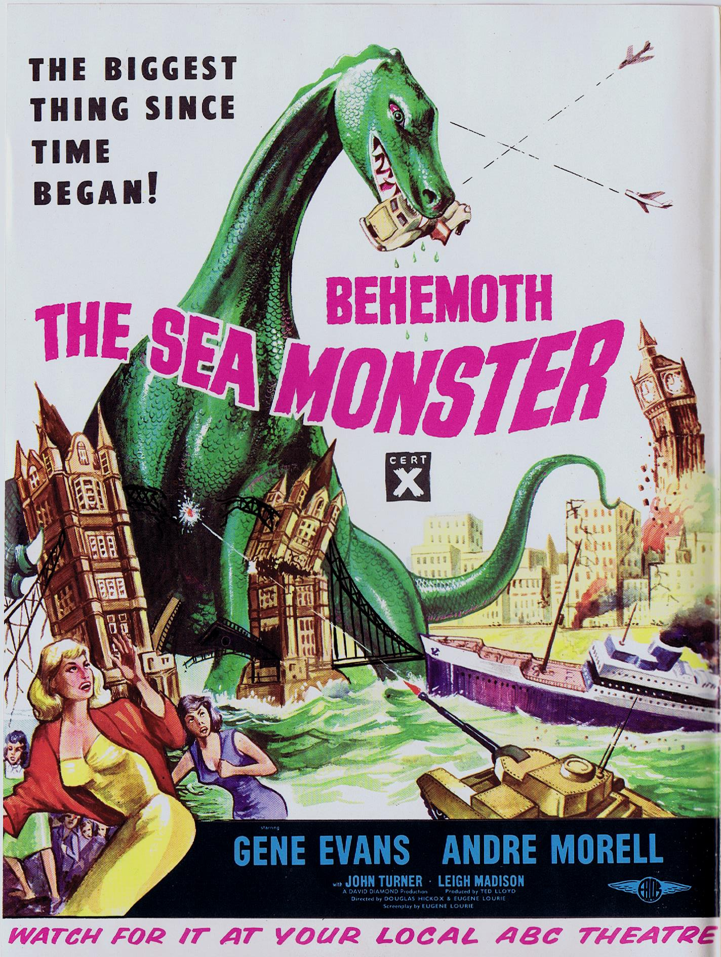 A few words about   ™ The Giant Behemoth - in Blu-ray • Home Theater
