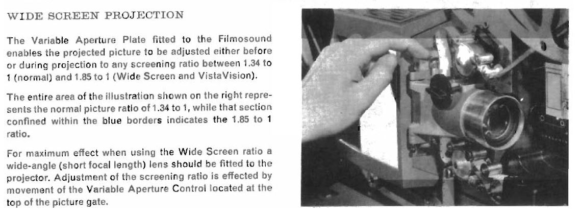 Bell and Howell Filmosound widescreen 641 and 642.JPG