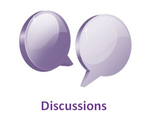 Discussions Icon.