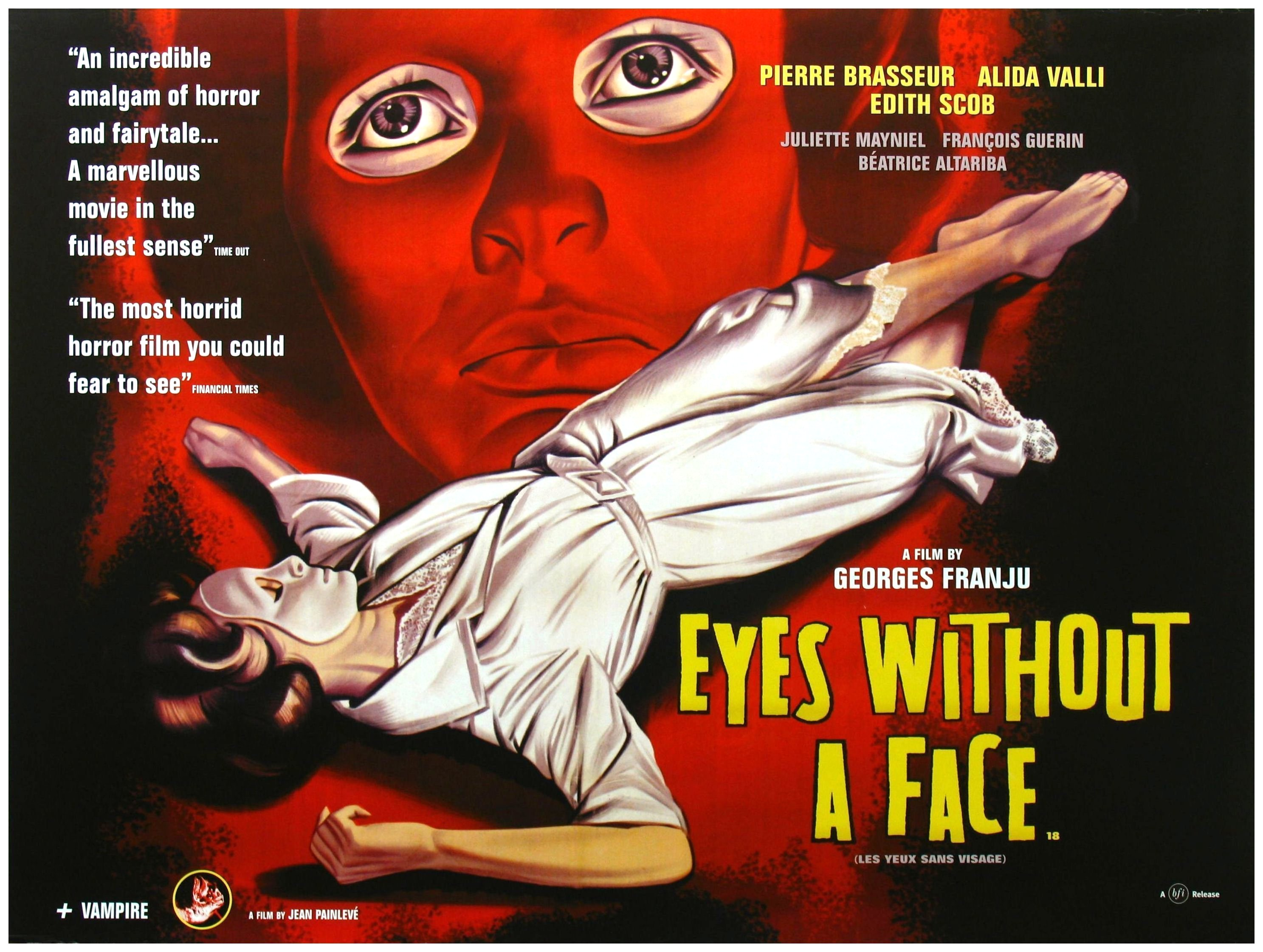 Eyes without a face.