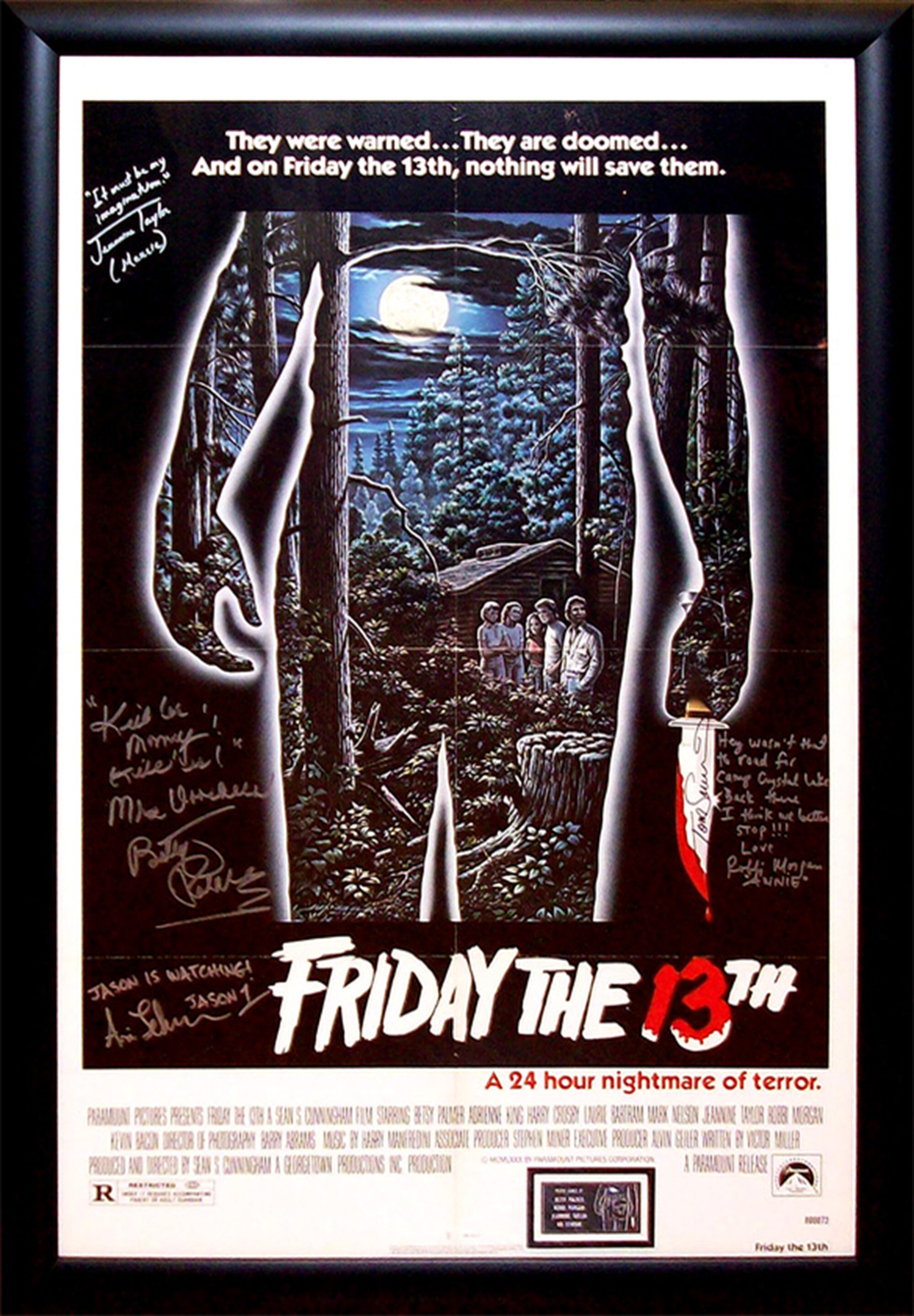 friday-the-13th-framed-autographed-movie-poster.