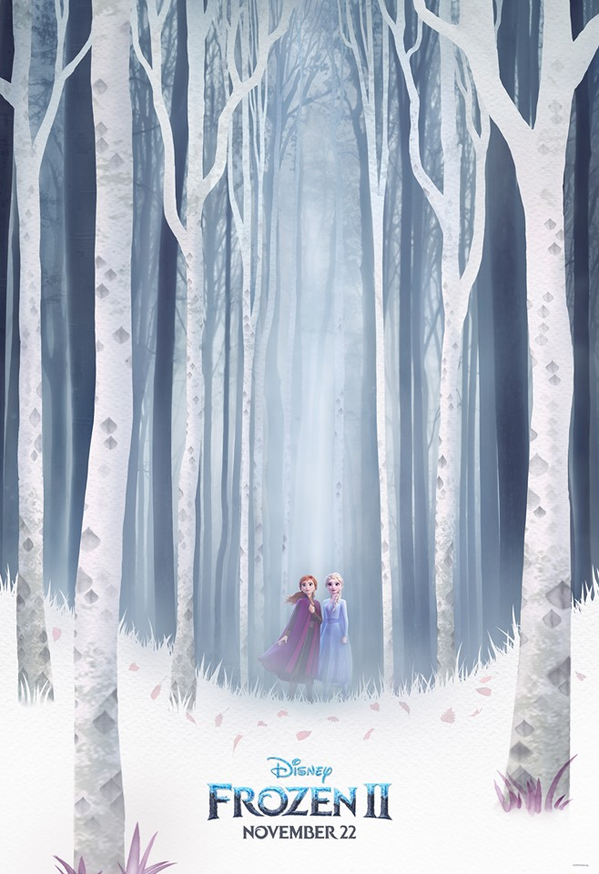 Frozen II second poster.