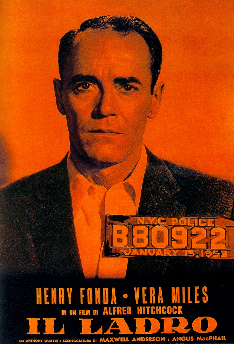 Henry Fonda is the wrong man.