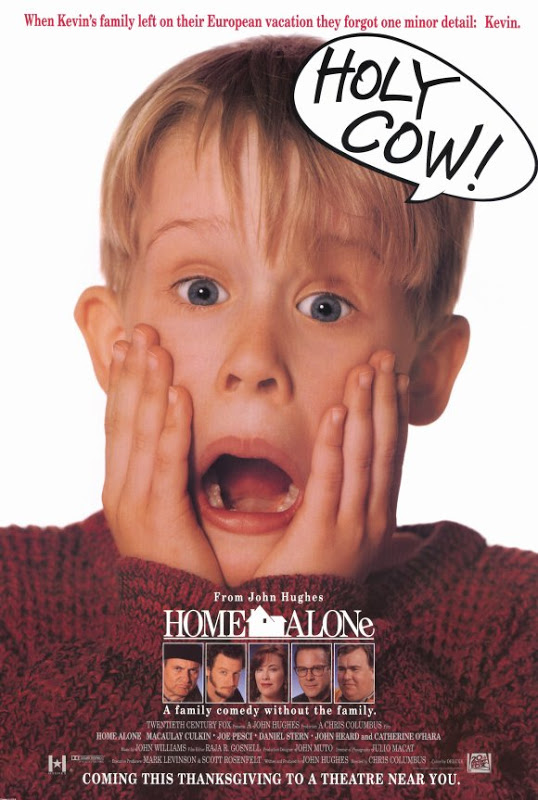 home alone film poster.
