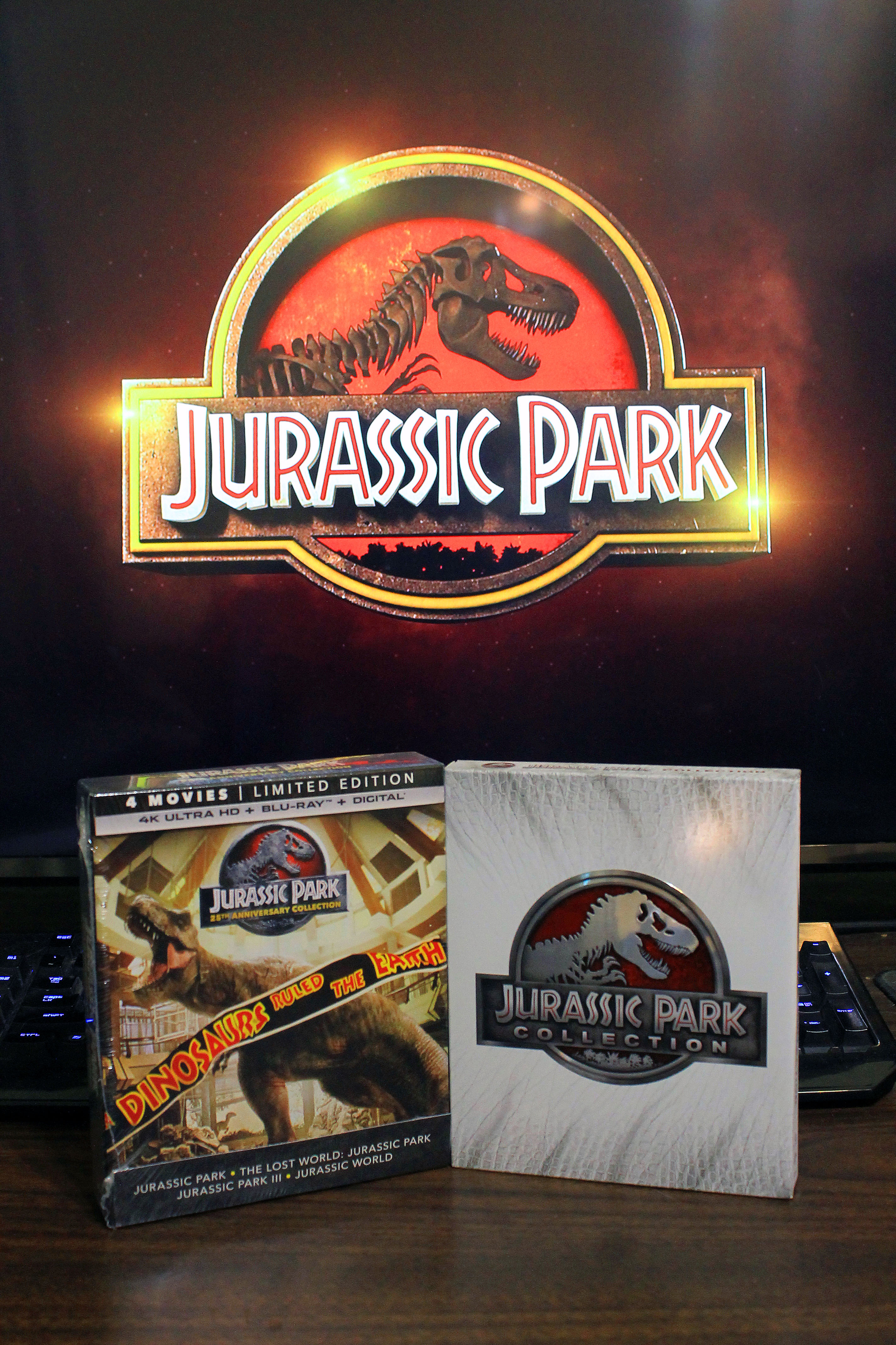 Jurassic Park 25th Anniversary Collection 4k Uhd Collection Review Home Theater Forum Home Theater Forum