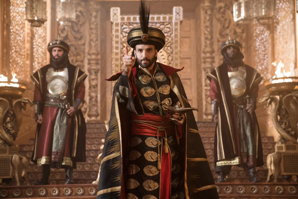 Jafar and guards.