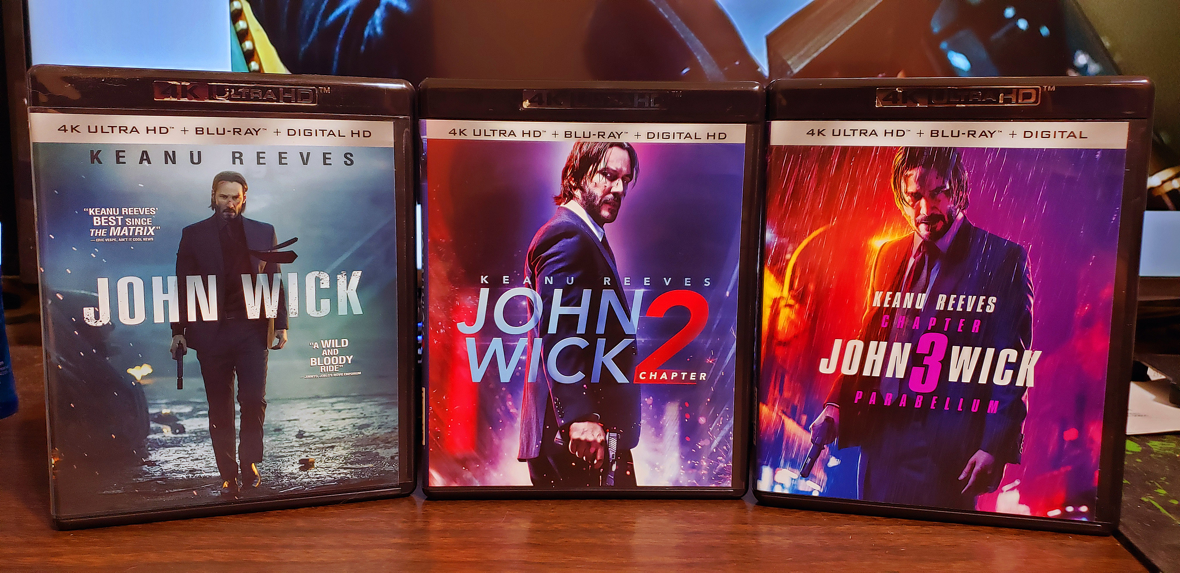 John Wick Collection.