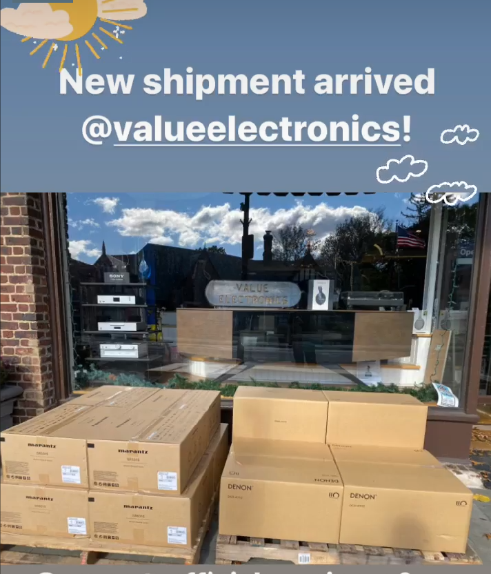 Marantz and Denon Limited Edition shipment.png