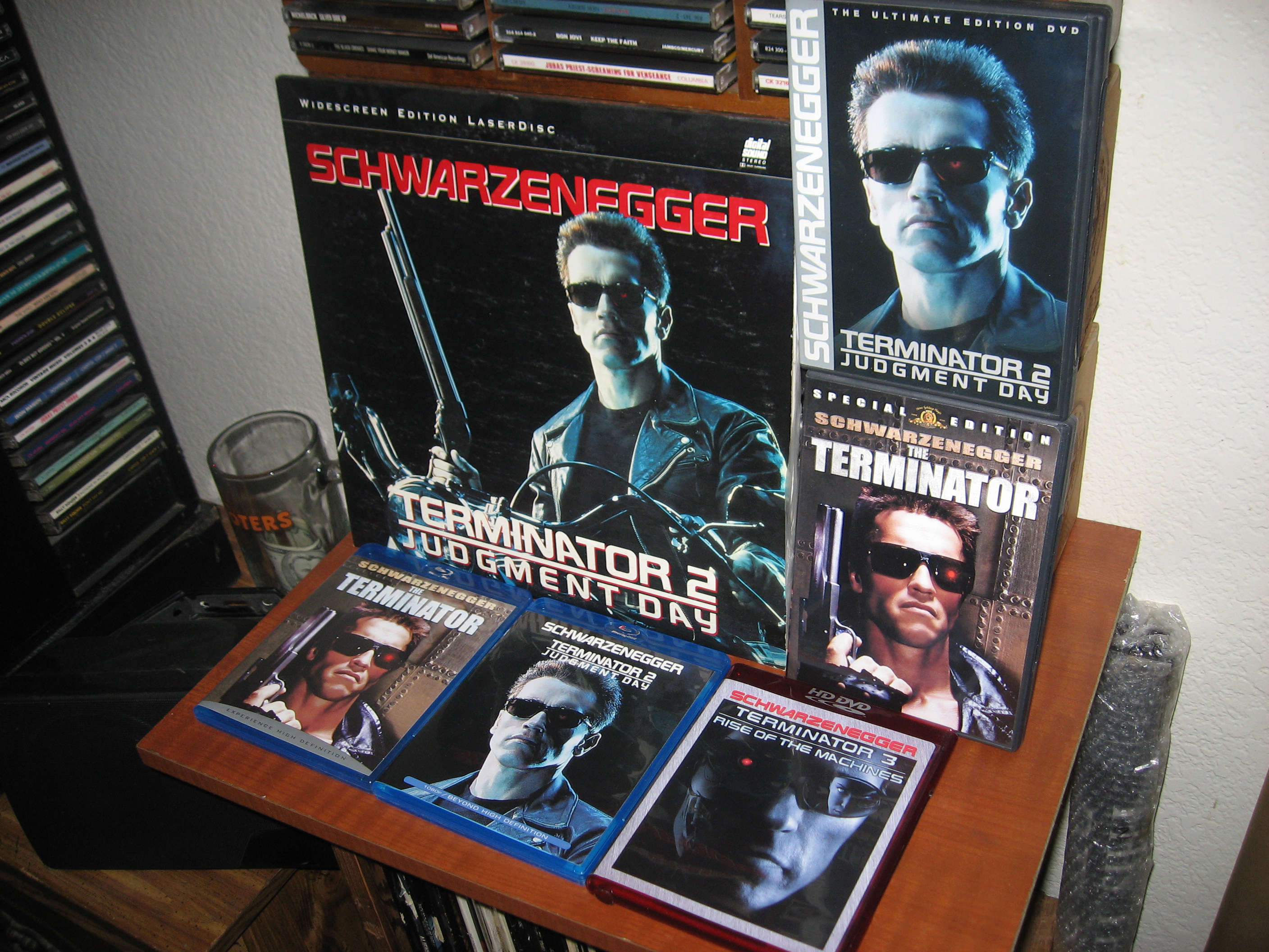 My Terminator Collection.