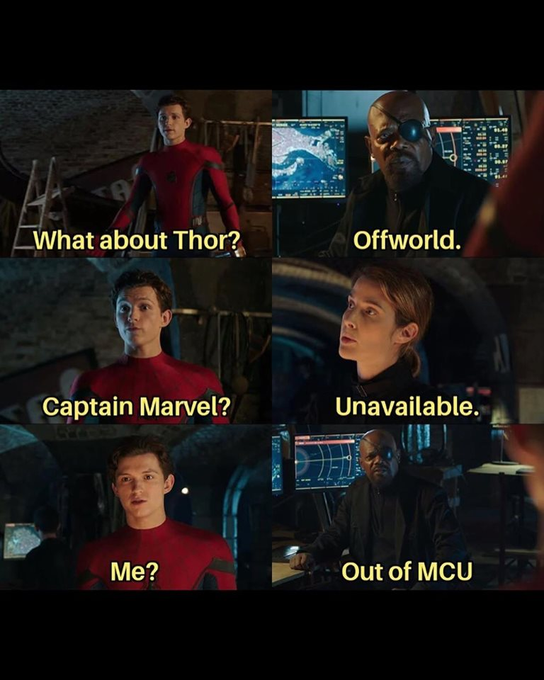 Out of MCU meme.
