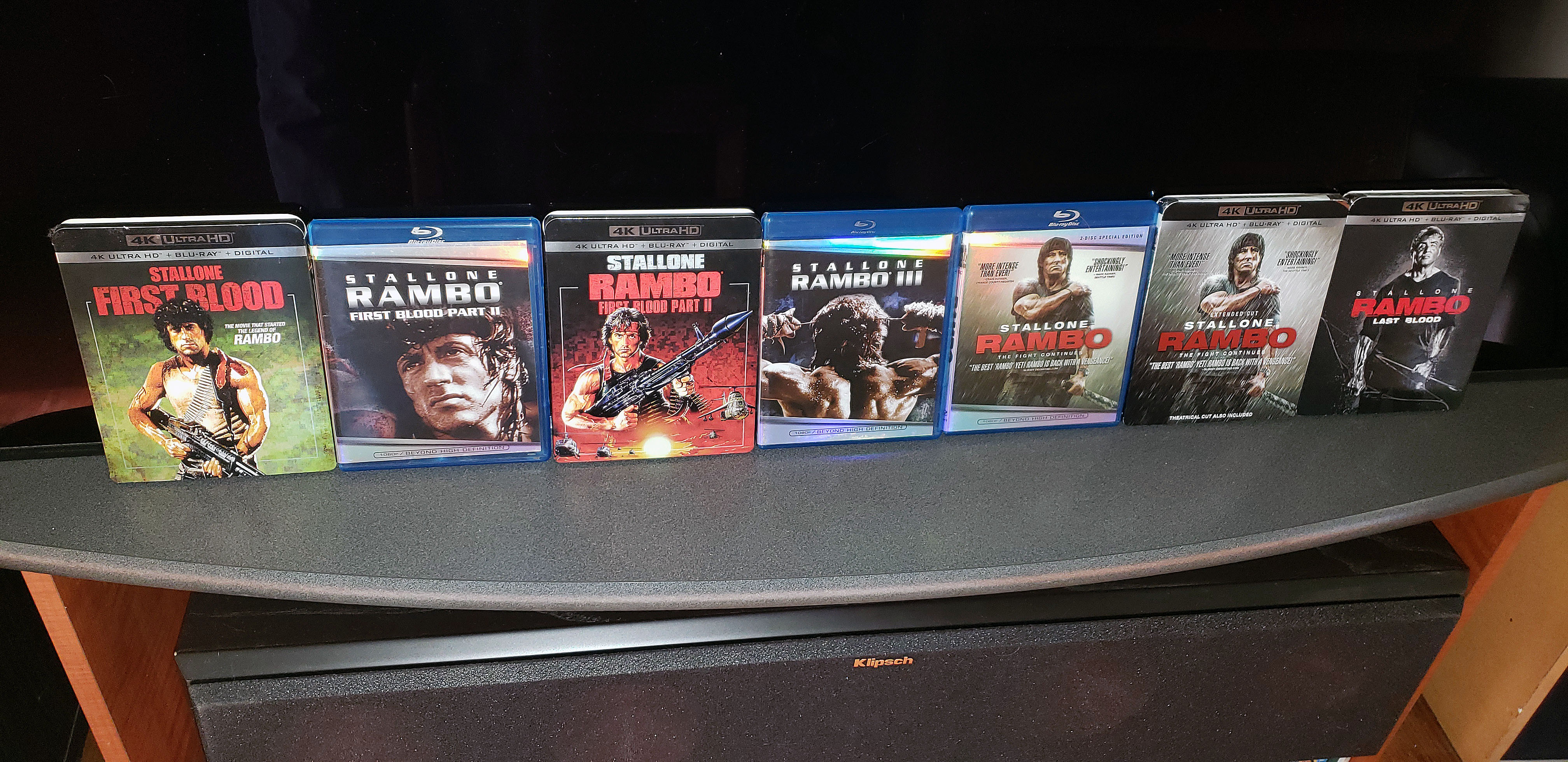 Rambo Collection 4Ka.