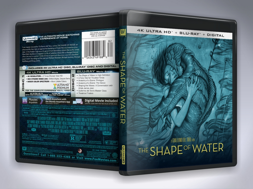 Shape of Water Preview.