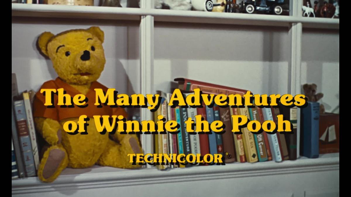 Many Adventures of Winnie The Pooh (1977) (Blu-ray) Available for Preorder  Page 2  Home