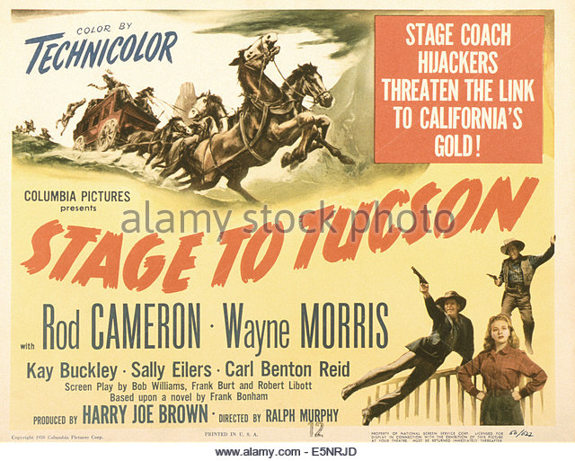 stage-to-tucson-us-poster-bottom-from-left-wayne-morris-kay-buckley-e5nrjd.