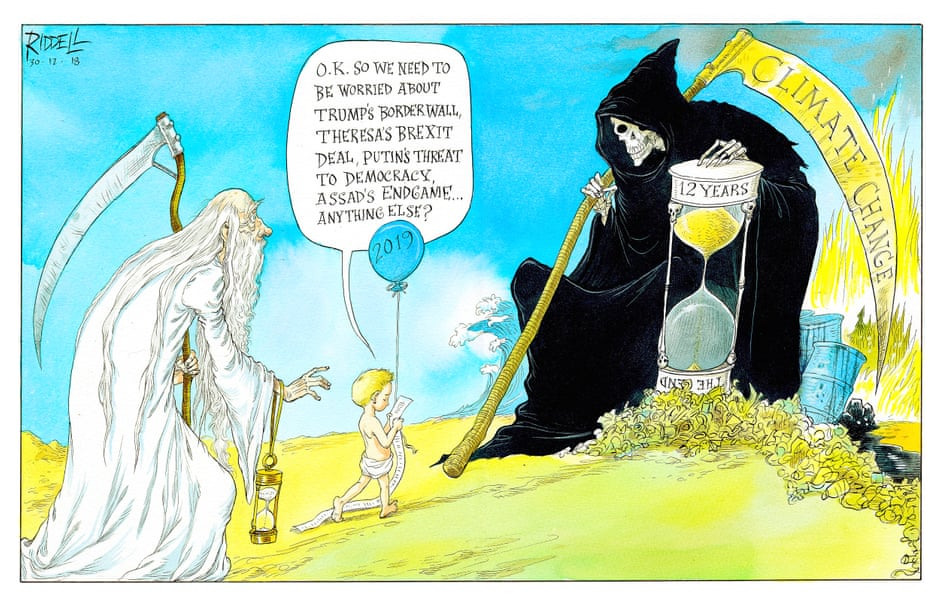 The Guardian Cartoon.