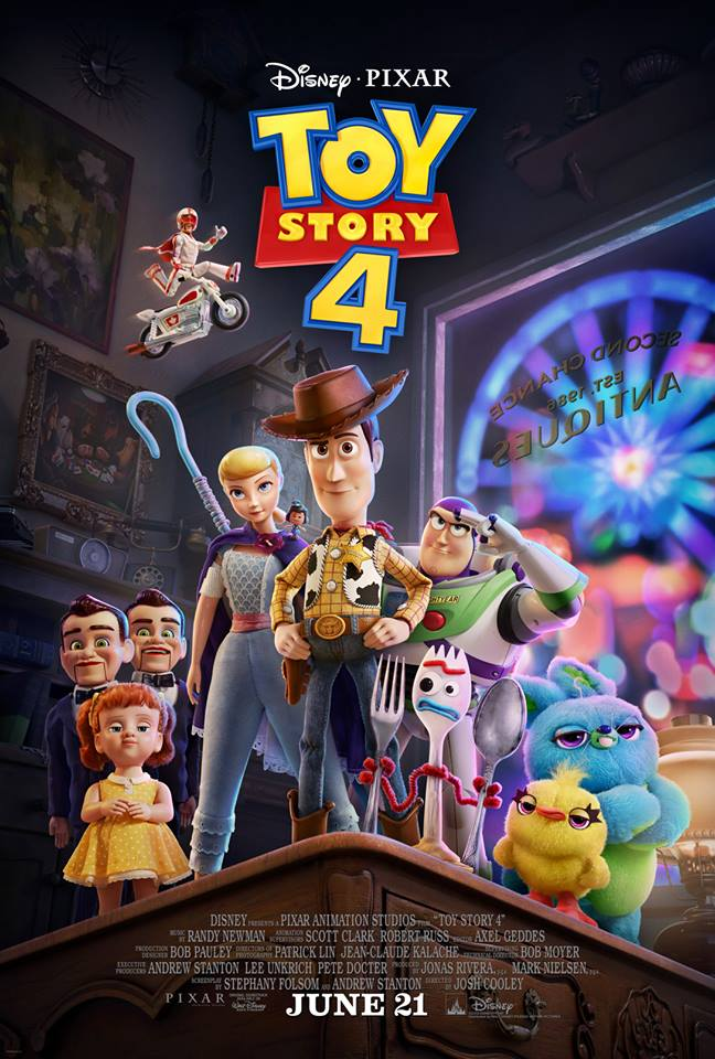 Toy Story 4 final poster.