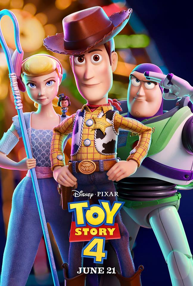 Toy Story 4 poster.