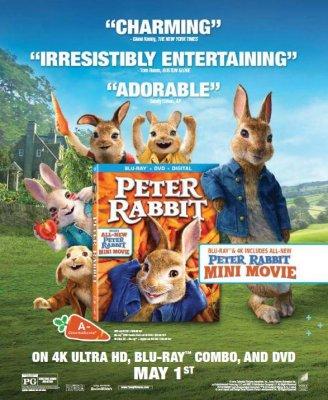 77ecbbb492ea Press Release - SPHE Press Release  Peter Rabbit (4k UHD) (Blu-ray)