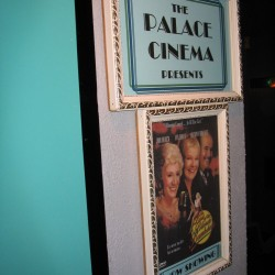 Palace Cinema Poster Board