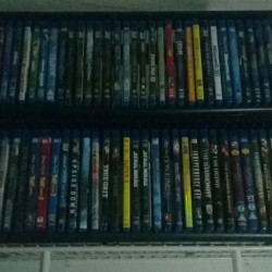 Small but growing Blu-ray collection