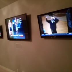 Multiple TV Screen mounting - Sports lovers dream!