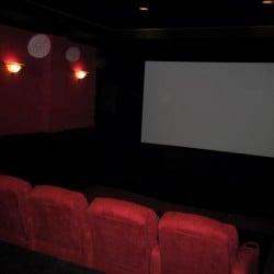 view of the screen