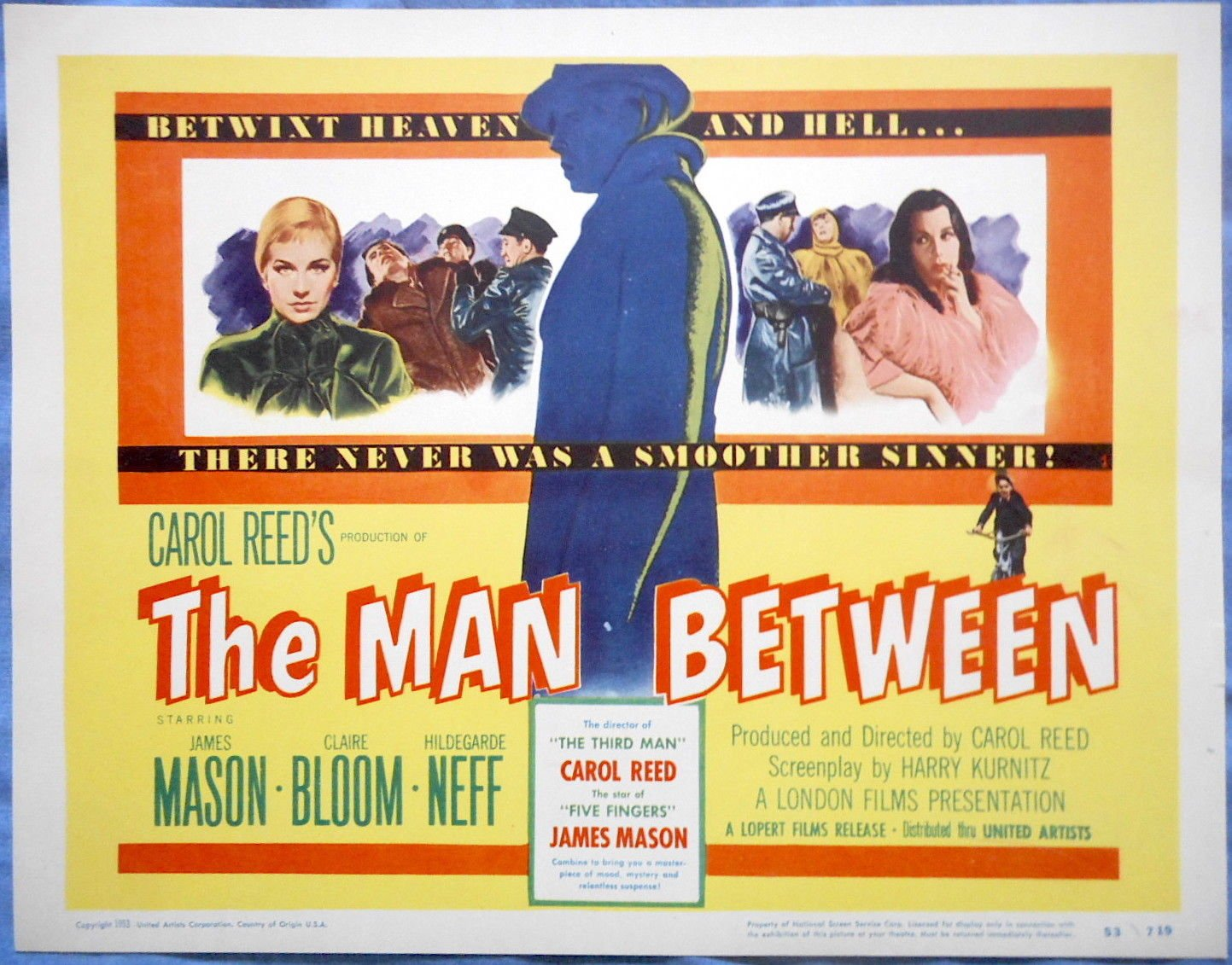 1953-The Man Between-poster | Home Theater Forum