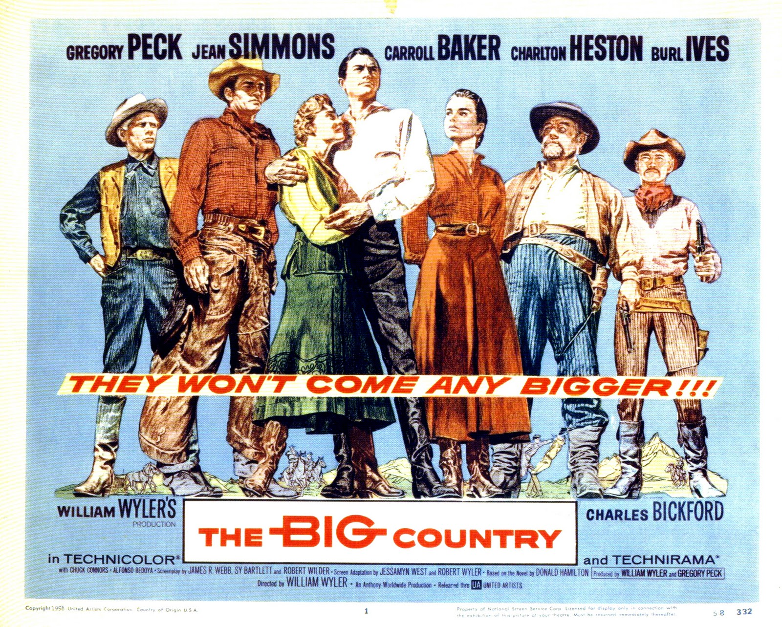 1958-The Big Country-poster | Home Theater Forum