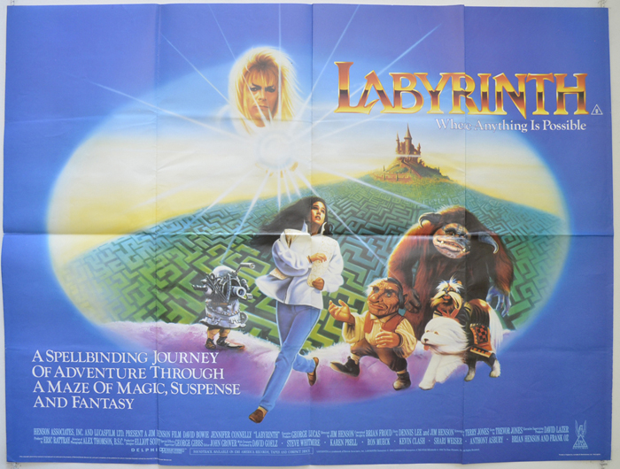 Weekly RoundUp 9-20-2016 • Home Theater Forum Labyrinth 1986 Poster
