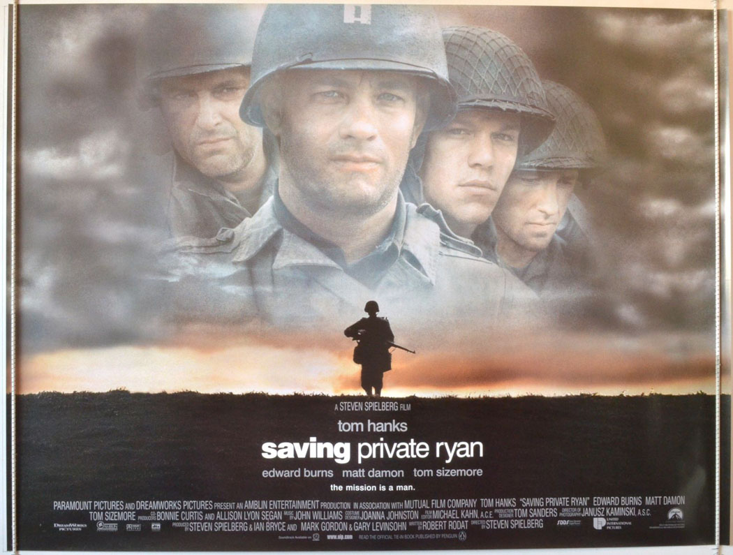 1998-Saving Private Ryan-poster | Home Theater Forum