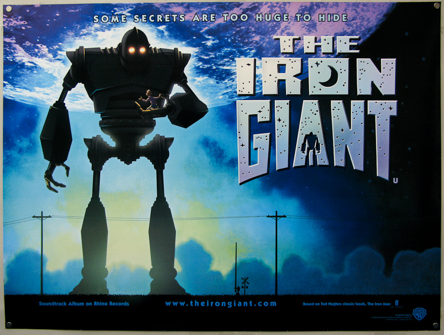 Art Posters Details about The Iron Giant Classic Movie Poster Wall Decor  X-793 Art