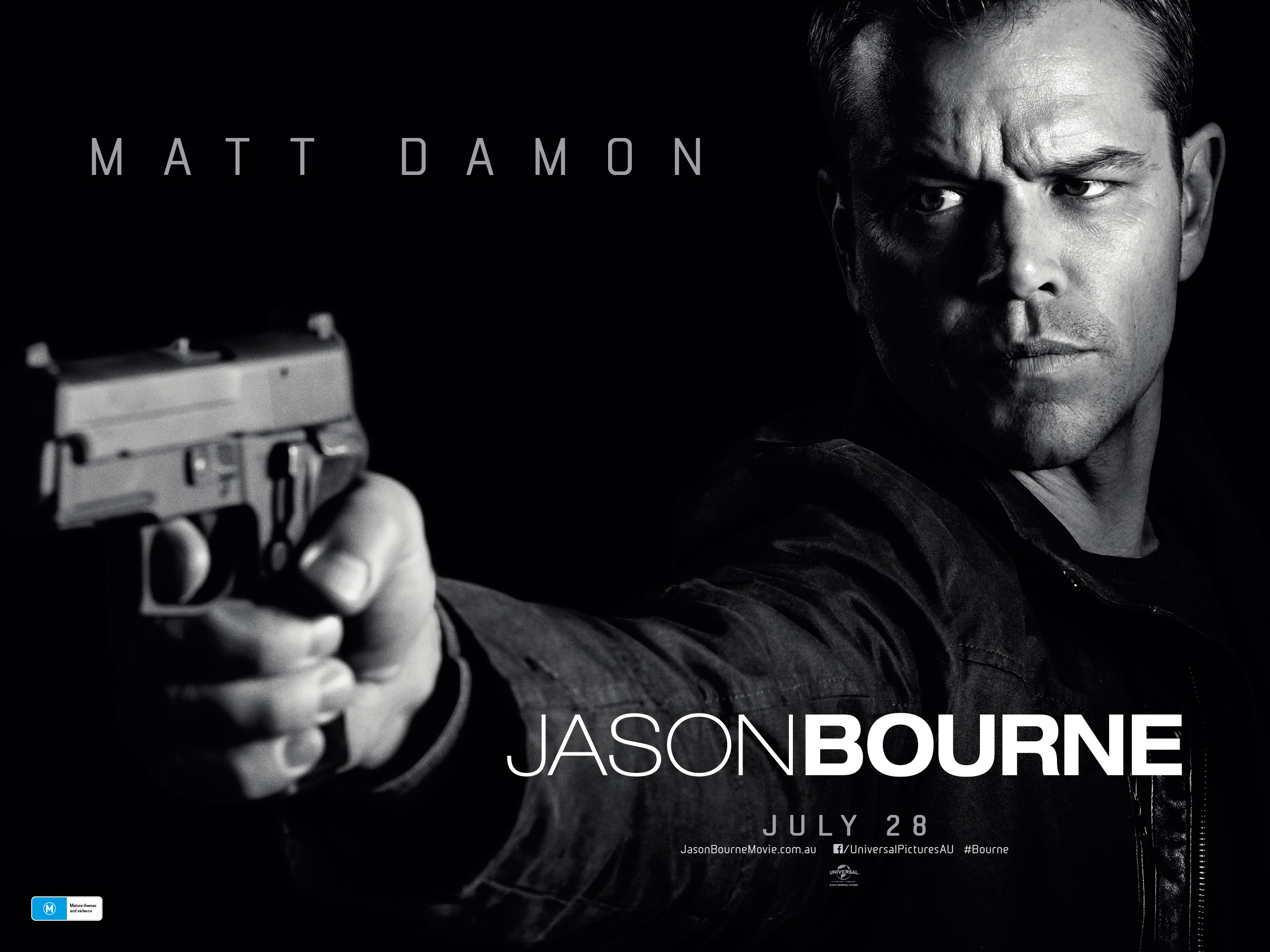 2016-Jason Bourne-Poster | Home Theater Forum