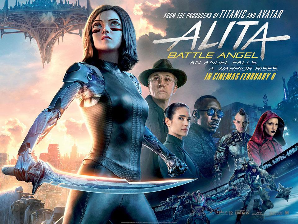 2019-Alita-Battle Angel-poster | Home Theater Forum