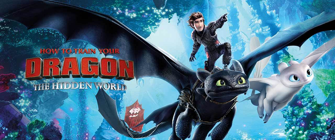 2019 How To Train Your Dragon Hidden World Poster Home Theater Forum