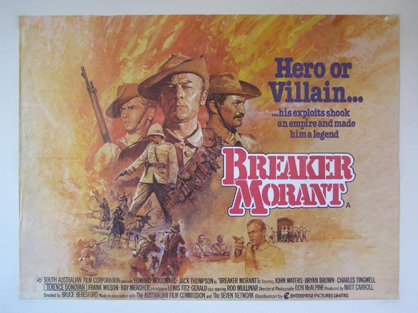 Australian War Movies: A List