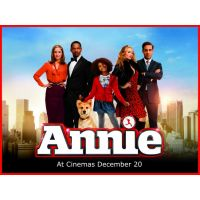 2014 annie movie poster