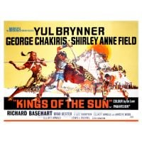 1963 Kings Of The Sun poster