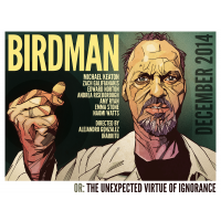 2014 Birdman Movie Poster Keaton