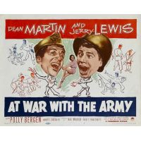 1950 At War with The army movie poster