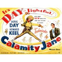 1953 calamity jane  movie poster